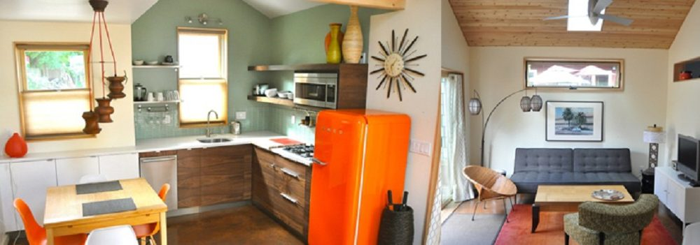 Interior of an accessory dwelling unit